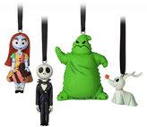 Disney Tim Burton's The Nightmare Before Christmas Sketchbook Mini Ornament Set