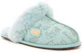 Australia Luxe Collective Closed Genuine Shearling Lined Mule Slipper