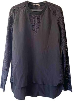 Rebecca Taylor Black Silk Top for Women