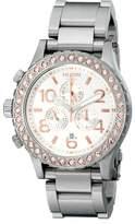 Nixon Women's 42-20 Chrono A0371519 Stainless-Steel Quartz Watch