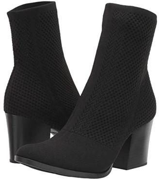 Børn Meggs Too (Black Knit Fabric) Women's Boots