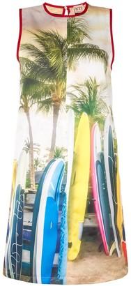 No.21 Surf-Print Shift Dress