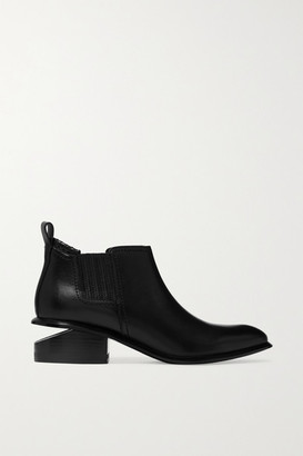 Alexander Wang Kori Cutout Leather Chelsea Boots - Black