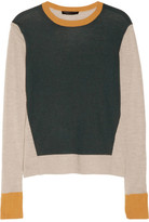 The Row Kent fine-knit cashmere and silk-blend sweater