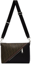 Fendi Black and Brown Forever By The Way Bag