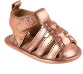 Laura Ashley Champagne Weave Strap Sandal