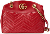 Gucci GG Marmont matelassé tote - women - Leather/Gold Tone Alloy/Microfibre - One Size