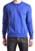 Ralph Lauren Men's Blue Cotton Sweatshirt.