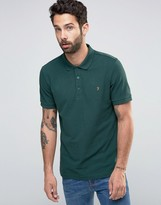 Farah Polo Shirt In Regular Fit In Green