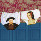 Tudor Twisted Twee Funny Valentine Gift Love Pants For Couples