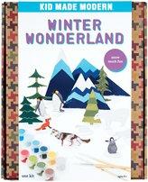Kid Made Modern Winter Wonderland Playset