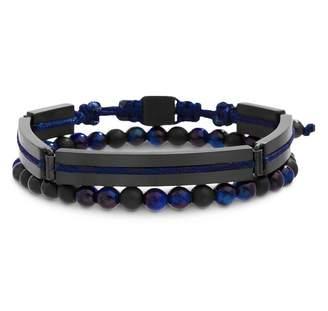 Ben Sherman Beaded Double-Row Bracelet