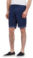Red Herring Navy Spot Print Shorts