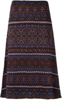 Cecilia Prado knitted midi skirt - women - Acrylic/Lurex/Viscose - PP