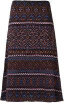 Cecilia Prado knitted midi skirt