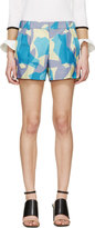 Viktor and Rolf Lavender Printed Shorts