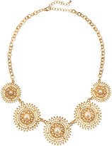 Jules Smith Designs Solar Pearly Golden Necklace