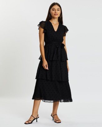 Atmos & Here Joanna Tiered Dress