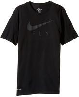 Nike Dry Swoosh Fly Basketball T-Shirt Boy's T Shirt