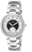 Lucien Piccard Stainless Steel & Black Casablanca Bracelet Watch - Women