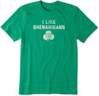Life is Good Men's I Like Shenanigans T-Shirt