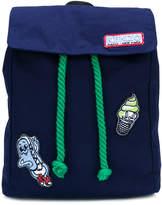 Kenzo badges backpack