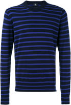 Paul Smith striped crew neck jumper - men - Cotton - XS