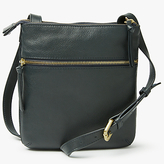 John Lewis Aurora Leather Small Across Body Bag