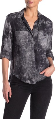 Velvet Heart Riley Tie-Dye Button Down Shirt