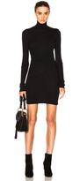 Enza Costa Cashmere Long Sleeve Turtleneck Dress