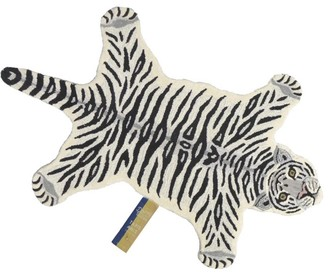 Doing Goods Wool Snowy Tiger Rug