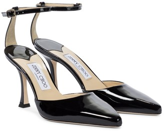 Jimmy Choo Mair 90 patent leather pumps