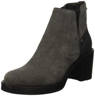 U.S. Polo Assn. Women's Whitney Suede Ankle Boots Grey (Grey Grey) 7.5 UK