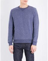 A.p.c. Crewneck Cotton-blend Jersey Sweatshirt