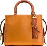 Coach Mixed Leather Rogue Bag 25