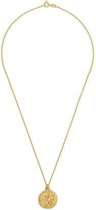 Dear Letterman SSENSE Exclusive Gold Kaad Pendant Necklace