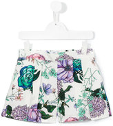 Young Versace - floral print shorts - kids - Cotton - 4 yrs