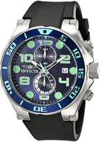 Invicta Men's 17813 Pro Diver Analog Display Japanese Quartz Black Watch