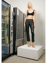 Helmut Lang Leather Ankle Pant