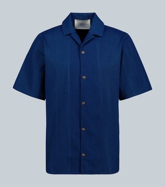 King And Tuckfield Short-sleeve cotton shirt