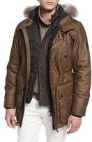Belstaff Pathfinder All-Weather Jacket, Moss Green