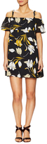 Lucca Couture Printed Off Shoulder Mini Dress