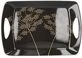 Camilla And Marc Creative Tops 47 x 33 cm Large Silhouette Luxury Handled Melamine Dinner Serving Tray