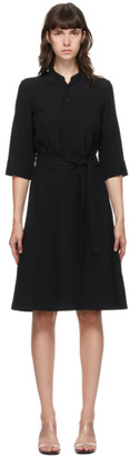 A.P.C. Black Oleson Mid-Length Dress