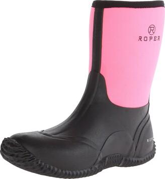 Roper Women's Barnyard Lady Rain Shoe