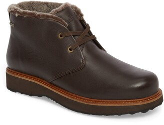 Samuel Hubbard Winter's Day Waterproof Gore-Tex® Genuine Shearling Lined Chukka Boot
