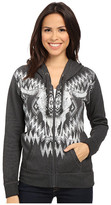 Rock and Roll Cowgirl Long Sleeve Knit Hooded 48Z5036