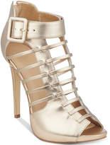 GUESS Women's Adhirra Caged Dress Shooties Women's Shoes