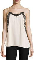 BY AND BY by&by Lace Trim Slip Cami