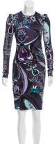 Emilio Pucci Floral Bodycon Dress